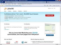 Wikis Business The Business Wiki In The Workplace