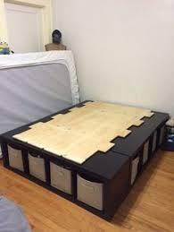 diy storage bed. Shelf Bed Storage Diy 0
