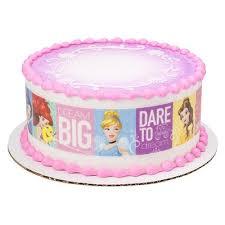 Disney Princess Dream Big Princess Photocake Image Strips