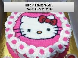 Terbaik Wa 081322913998 Kue Ulang Tahun Hello Kitty Di Bandung