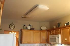Kitchen Fluorescent Light Fixture Diy Update Fluorescent Lighting Replace Fluorescent Light Fixture