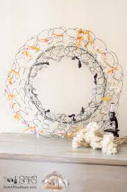 Bed Springs Spring Wreath Made Of Bedsprings Tutorial The Kim Six Fix