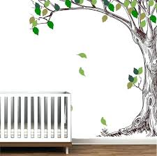 the giving tree wall decal together with corner trees branches birch l stick wall mural decal