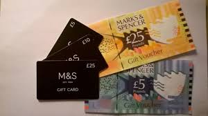 marks and spencer vouchers and gift card s worth 70 00 bargain at