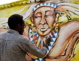 Image result for wall                                       painting rwanda