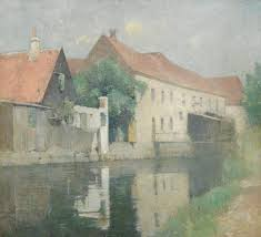 carlsen, emil the old mill ||| townscape ||| sotheby's n10048lot4gdjsen