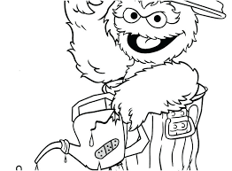 Sesame Street Coloring Pages Printable Coloring Pages Sesame Street