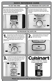 4.7 out of 5 stars with 773 ratings. Cuisinart Coffee On Demand Quick Reference Manual Pdf Download Manualslib