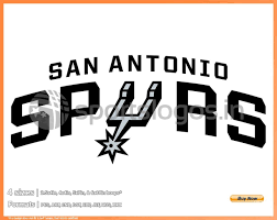 Spurs Embroidery Design San Antonio Spurs Basketball Sports Embroidery Logo In 4 Sizes Spln003789