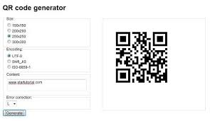 Google Charts Qr Code Build Your Own Qr Code Generator With Google Chart Api