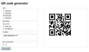 Google Charts Api For Qr Code Generator Build Your Own Qr Code Generator With Google Chart Api