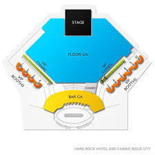 Hard Rock Hotel And Casino Sioux City Tickets