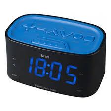 Радиобудильник <b>Uniel UTR</b>-<b>33BBK</b> — купить в интернет ...