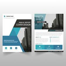 brochure template business brochure template with geometric shapes vector free download