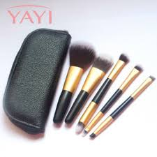y bs011 china 2016 new pro high quality private label 5 pcs make up brush set manufacturer supplier fob is usd 2 7 3 0 set
