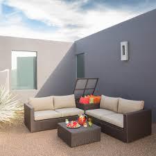 corner furniture piece. nelson 4pc resin rattan wicker chair sofa loveseat coffee table set corner furniture piece