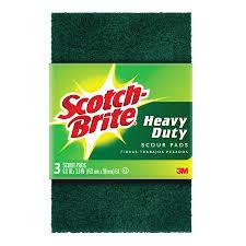 scotch brite heavy duty scour pads