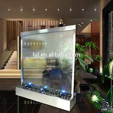 glass wall water fountain soothing indoor wall fountains make
