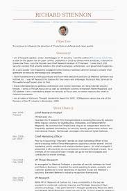 60 Awesome Senior Financial Analyst Resume Samples Template Free