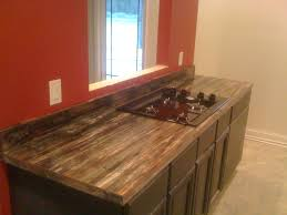 petrified wood formica laminate modern kitchen chicago