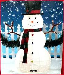 if cutting some trees this fall than save round and make snowmen outdoor snowman christmas decorations . Lights Unique Lighted Outdoor Snowman For Christmas Decorations