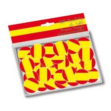 Confettis de table Espagne- Confettis drapeau espagnol