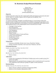 Business Analyst Resume Objective Examples Business Analyst Resume Samples Examples Sevte 24