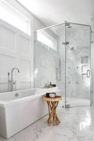 traditional bathroom lighting ideas white free standin. Bath Shower Bathroom Captivating Free Standing Tub With Round Design Wood Table Plus Glass Divider Also Recessed Lighting Ideas Awesome Modern Decorating Traditional White Standin D
