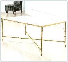 bamboo glass coffee table gold metal coffee table gold bamboo coffee table gold bamboo glass coffee