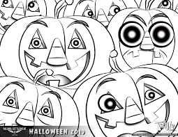 Halloween coloring sheets are an excellent way to get your kids in the spooky spirit. Trick Or Treat Free Download Halloween Coloring Pages Palama Settlement