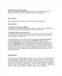 Business Referral Letter 7 Business Reference Letter Templates Free ...