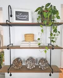 rustic wooden wall shelves floating shelves wooden wall shelves kirkland s gift card giveaway