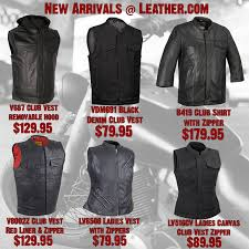 new arrivals at leather com