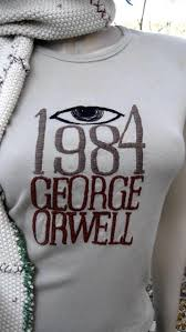 george orwell t shirt atilde bluesyemre literary t shirts for book geeks acirc 1984 george orwell t shirt 526atilde151935