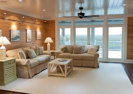 Wood Walls In Living Room Painting Real Wood Paneling