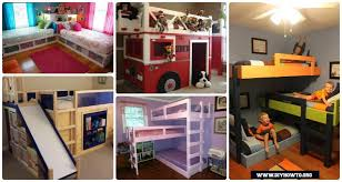 Making bunk beds Toddler Diy How To Diy Kids Bunk Bed Free Plans picture Instructions