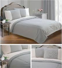 grey black colour minimalist striped design duvet quilt cover set luxury bedding