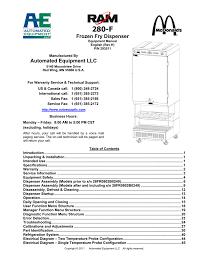 frozen fry dispenser automated equipment llc unique automated dispensing cabinets parison