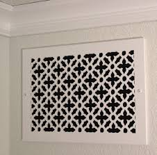 Decorative Grates Registers Interior Ceiling Air Vent Covers With Baseboard Vent Covers Also