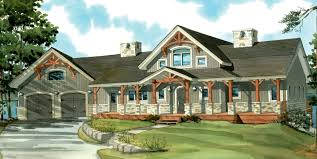 Small Picture one story country house plans with porches ideas house plans 40277