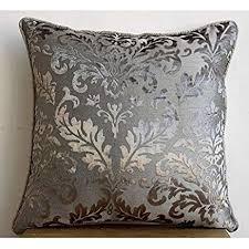 velvet pillow shams. Wonderful Pillow Luxury Grey Pillow Shams Damask 24u0026quotx24u0026quot  In Velvet Shams N