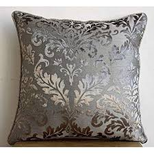 gray pillow shams. Exellent Pillow Luxury Grey Pillow Shams Damask 24u0026quotx24u0026quot  On Gray Shams
