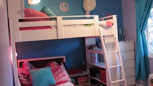Kids Bed With Bookshelf Ana White Loft Bed W Bookcase And Headboard Diy Projects