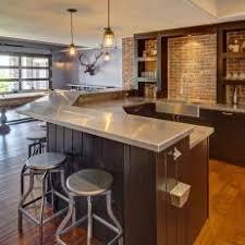 basement wet bar. Industrial Basement Wet Bar With Pool Table I