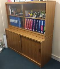 book case cupboard with sliding doors 45