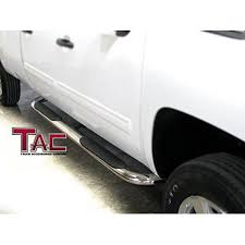 TAC Side Steps for 2005-2018 Toyota Tacoma Double Cab Truck Pickup 4 ...