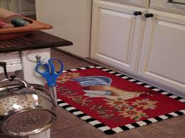 Amazing of Red Kitchen Rugs with Rooster Kitchen Rugs Creating A
