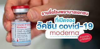 รวบรวมชื่อโรงพยาบาลเอกชนที่เปิดจองวัคซีนทางเลือก Moderna ฉบับอัปเดต! -  Wongnai