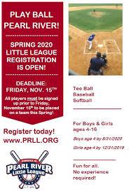 Little League Baseball Age Chart 2014 Home Page Pearl River Little League