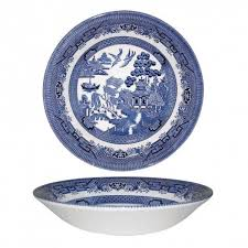 Купить <b>Тарелка суповая Churchill 20</b> см Голубая ива Churchill ...